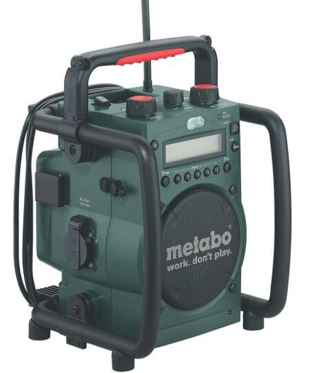 Gutes Metabo Baustellenradio RC